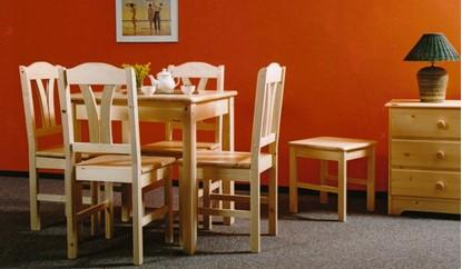 Obrázek Jídelní stůl 78x78 přírodní
