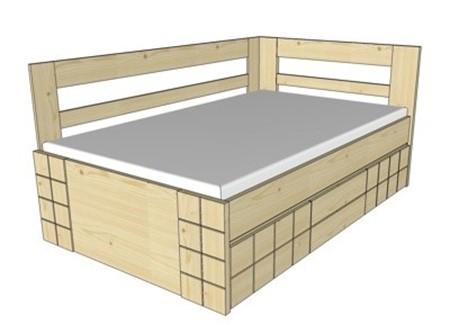 Obrázek pro kategorii Vysoké postele