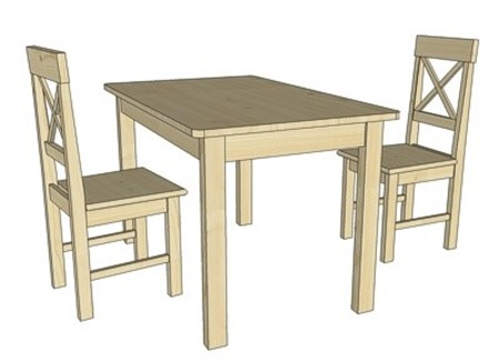 Obrázek pro kategorii Jídelní stoly a židle