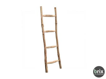 Dřevěný žebřík