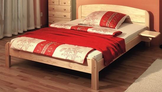 Manželská postel do ložnice, dvoulůžko Gazel.