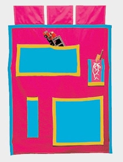 Textilní dekorace k patrovým postelím Gazel