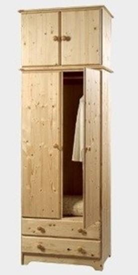 Nábytek z masivu, nástavec na šatní skříň. Gazel