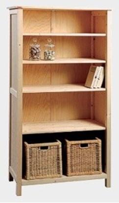 Dřevěná knihovna Gazel