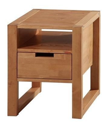 Dřevěný noční stolek k postelím Rhino oak. Gazel