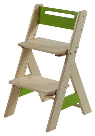 Dětská rostoucí židle z masivu Gazel.