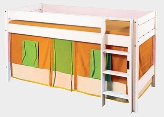 Textilní domeček k dětské posteli Gazel
