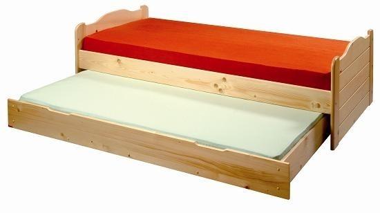 Dřevěná přistýlka pod postele Gazel.