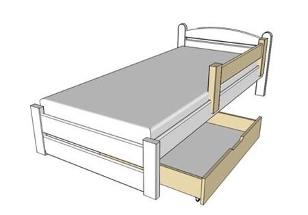Obrázek pro kategorii Zásuvky pod postele, zábrany