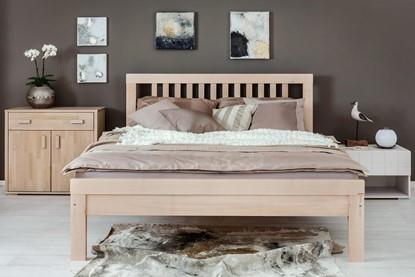 Vysoká postel do ložnice, dvoulůžko Gazel.
