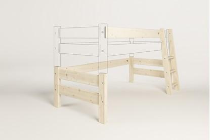 Dřevěný nábytek Gazel, zvyšující díl k posteli Sendy