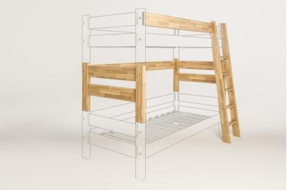 Dřevěný nábytek Gazel, spojovací díl k posteli Sendy buk