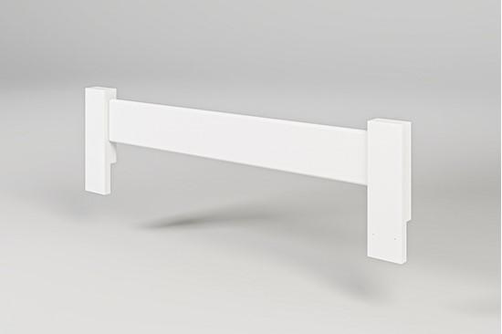 Nábytek z masivu, zábrana k posteli buková bílá. Gazel