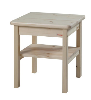 Dřevěný noční stolek k postelím Gazel